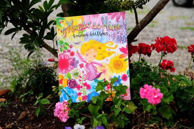 """3por4: livro infantil """"O mundo de Nini - A menina das Flores"""" é escolhido entre os finalistas do Troféu Minuano de Literatura Diogo Sallaberry/Agencia RBS"""