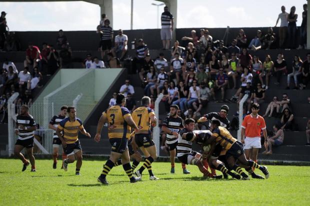Serra Gaúcha Rugby domina o Rio Branco-SP e está na decisão da Taça Tupi Marcelo Casagrande/Agencia RBS