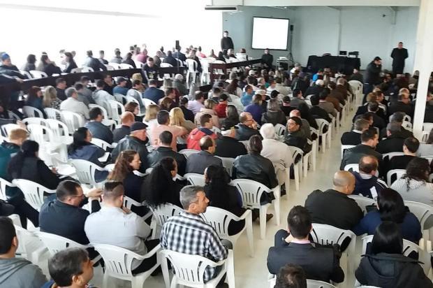 Credores aprovam venda de unidade da Voges em assembleia Reprodução/Facebook Sindicato dos Metalúrgicos de Caxias