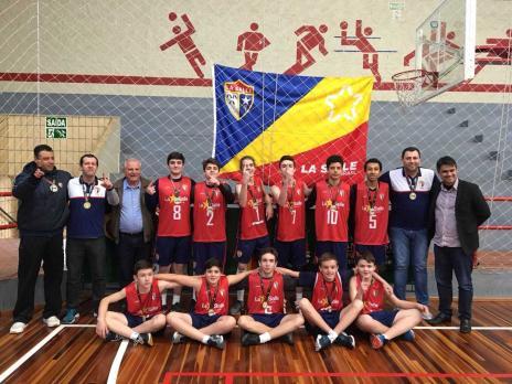 La Salle/Carmo compete nos Jogos Escolares da Juventude (La Salle/Carmo / Divulgação/Divulgação)