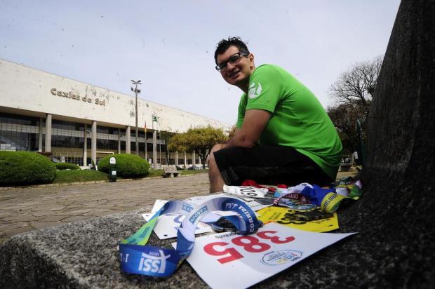 Jornalista perde mais de 30 kg com corrida e se prepara para Meia Maratona de Caxias Marcelo Casagrande/Agencia RBS