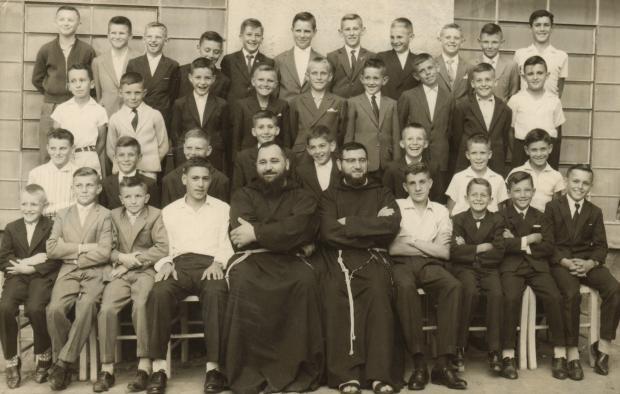Memória: Encontro da Associação Juvenil Esperança e de ex-coroinhas dos Capuchinhos Acervo pessoal de Paulo Caselani / divulgação/divulgação