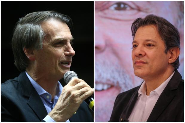 Mirante: propaganda gratuita encerra com ataques e clima tenso Montagem sobre fotos de Anselmo Cunha e Ricardo Stuckert / Agência RBS/Agência RBS