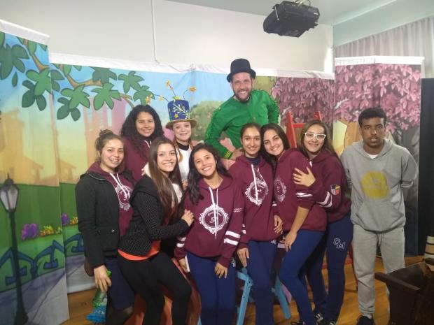 Escola Cristovão de Mendoza, de Caxias, recebe peça do Projeto Pedagógico Acqua Lokos Ascom Acqua Lokos / Divulgação /Divulgação