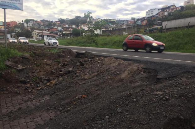 Moradores relatam problemas de acesso após implantação da terceira faixa na BR-116, em Caxias Cristiano Lemos/Agência RBS