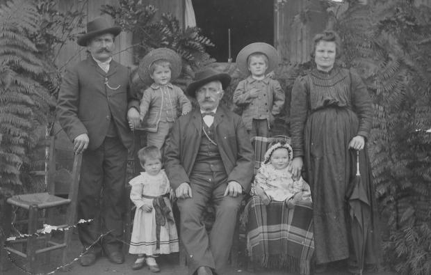 Memória: encontro da família Molon em Farroupilha Acervo de família / divulgação/divulgação