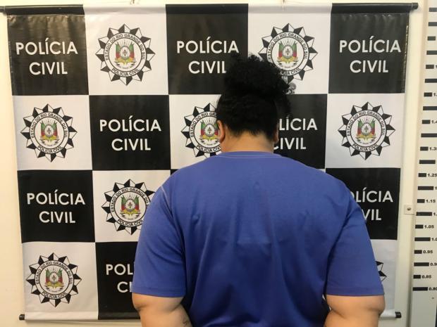 Condenada por tráfico de drogas é presa em Caxias do Sul Polícia Civil / Divulgação/Divulgação