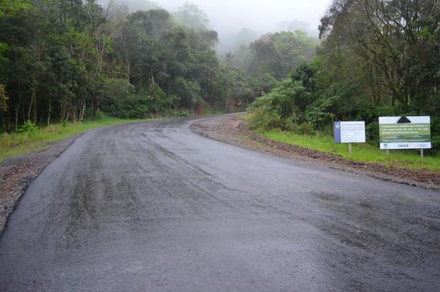 Acesso ao Ninho das Águias, em Nova Petrópolis, terá mais 300 metros de pavimentação Marcelo Moura/Divulgação