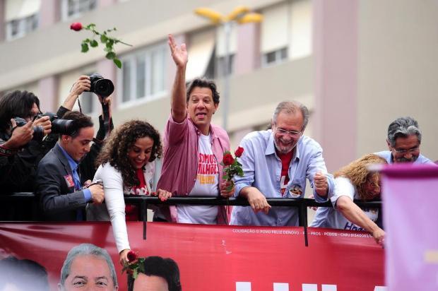 Mirante: Em Caxias, Fernando Haddad compromete apoio do PDT no segundo turno Diogo Sallaberry/Agencia RBS