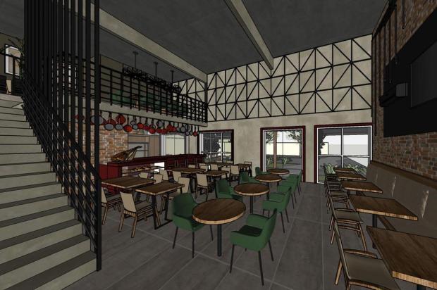 Restaurante inspirado na Toscana abre as portas em Caxias do Sul Imagens 3D/divulgação