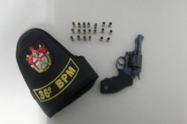 Homem é preso com revólver e munições em São Marcos Brigada Militar/Divulgação