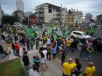 Eleitores de Bolsonaro realizam ato em Caxias do Sul Felipe Nyland/Agencia RBS