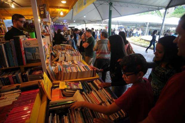 Mais de 37 mil pessoas já visitaram a 34ª Feira do Livro de Caxias do Sul, segundo organização Felipe Nyland/Agencia RBS