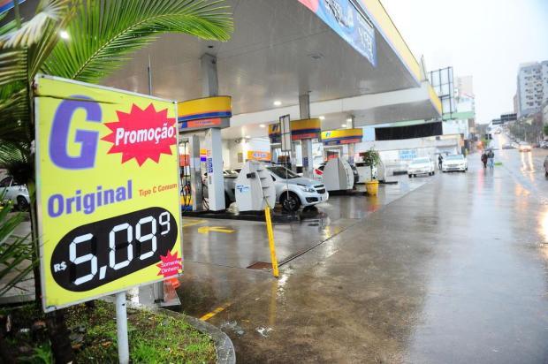 Pesquisa da ANP aponta pela primeira vez preço médio da gasolina acima de R$ 5 em Caxias Porthus Junior/Agencia RBS