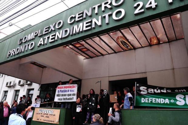 Justiça proíbe manifestações na entrada e nos corredores do Postão de Caxias do Sul Diogo Sallaberry/Agencia RBS
