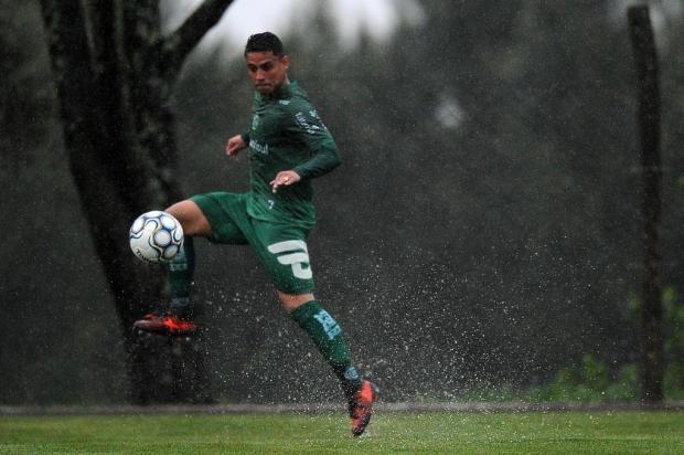 Lateral Pará irá completar 100 jogos com a camisa do Juventude Felipe Nyland/Agencia RBS