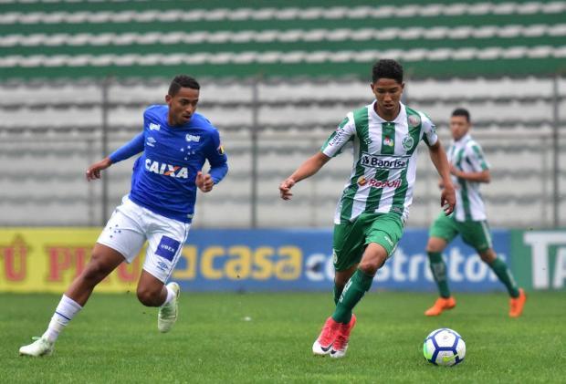 Juventude perde para o Cruzeiro na Copa do Brasil sub-17 Gabriel Tadiotto / Juventude, Divulgação/Juventude, Divulgação