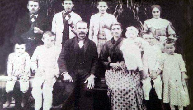 Memória: Encontro da família Bernardi em Nova Pádua Acervo de família / divulgação/divulgação