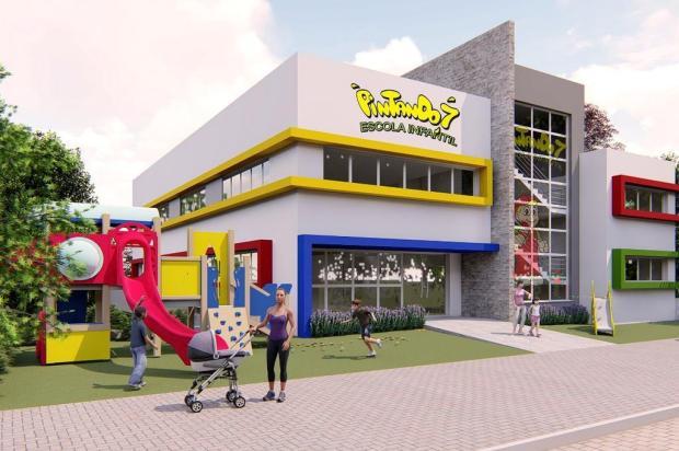 Escola infantil de Caxias investe R$ 2,6 milhões em nova sede Satis Arquitetura/reprodução