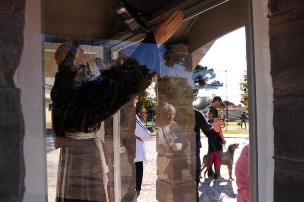 Animais de estimação de fiéis são abençoados em igreja de Caxias Marcelo Casagrande/Agencia RBS