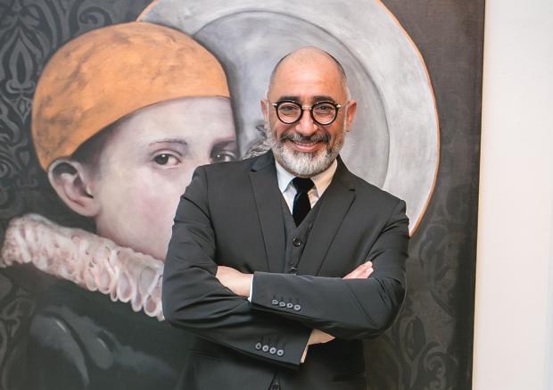 Sérgio Lopes inaugurou mostra na Galeria Municipal de Arte Gerd Bornheim Rafael Sartor, divulgação/