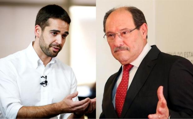 Eduardo Leite e Sartori disputarão segundo turno para o governo do RS Félix Zucco  / Karine Viana / Agencia RBS / Palácio Piratini/Agencia RBS / Palácio Piratini