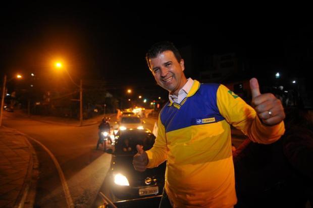 Neri, o Carteiro comemora cadeira na Assembleia Legislativa com carreata em Caxias Felipe Nyland/Agencia RBS
