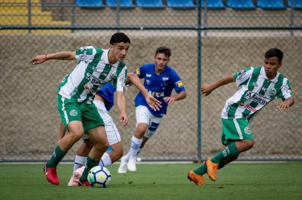 Ju sub-17 perde para o Cruzeiro e está fora do torneio nacional Gustavo Aleixo/Cruzeiro,divulgação