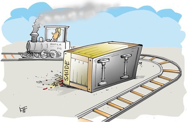 Iotti: o trem da saúde de Caxias Iotti / Agência RBS/Agência RBS