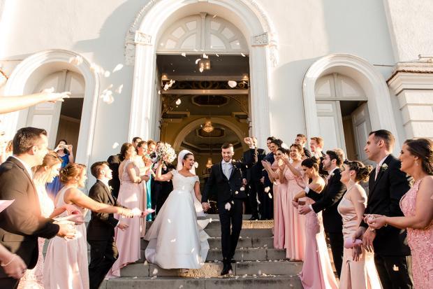 Veja detalhes do romântico enlace de Thiago Curzel e Kelin Zanette Fernando Dai Prá, divulgação/