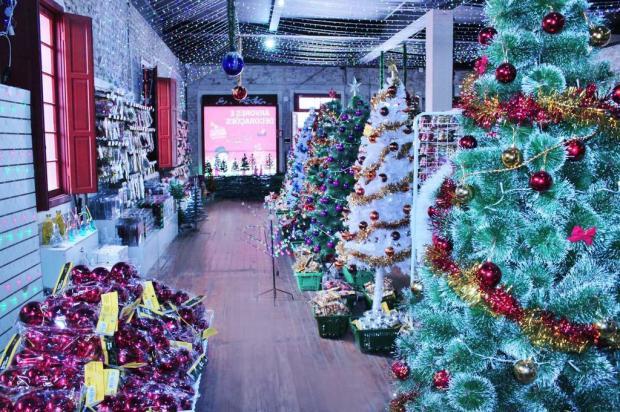 Já é Natal no comércio da Serra Éverton Padilha/divulgação
