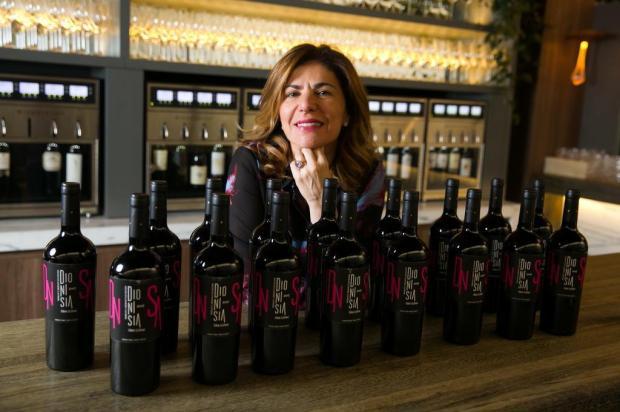 Bar com 64 torneiras de vinho Andréa Graiz/Agencia RBS