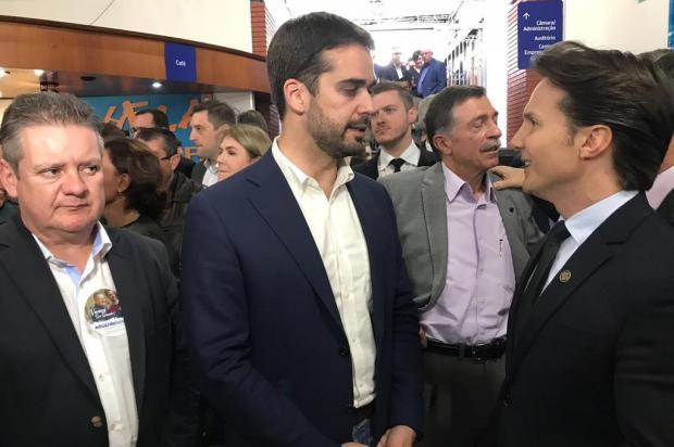 Mirante: prefeito Daniel Guerra dispara contra Sartori na CIC André Tajes/Agencia RBS