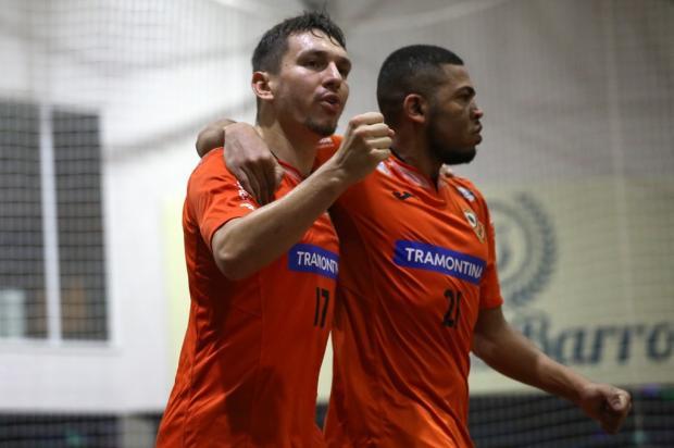 ACBF fica no empate em 4 a 4 com o Parobé no primeiro duelo das quartas de final Ulisses Castro / ACBF, Divulgação/ACBF, Divulgação