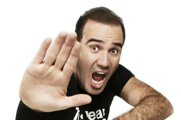 Agenda: comediante Diogo Portugal faz apresentação nesta segunda, em Caxias Divulgação/Primeira Via Comunicação