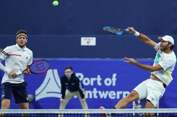 Dupla de Marcelo Demoliner vence e está na final do ATP da Antuérpia, na Bélgica Divulgação/Divulgação