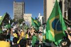Manifestantes participam de ato pró-Bolsonaro em Caxias André Tajes/Agência RBS