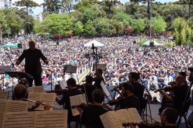 Concerto da Primavera reúne 8 mil pessoas no campus sede da UCS, em Caxias do Sul Claudia Velho/Divulgação