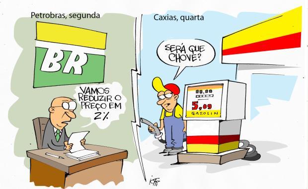 Iotti: o preço da gasolina Iotti / Agência RBS/Agência RBS