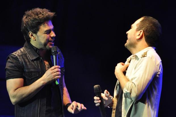 Agenda: Zezé Di Camargo & Luciano fazem show em 8 de novembro, no UCS Teatro Gabriel Lain/Especial