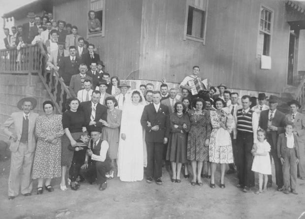 Memória: encontro da família Toigo na Vila Maestra acervo de família / divulgação/divulgação