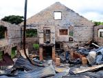 Confira fotos do Parque dos Pinhais incendiado