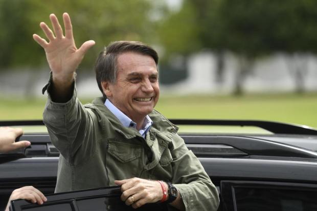 Jair Bolsonaro é eleito presidente da República MAURO PIMENTEL/AFP