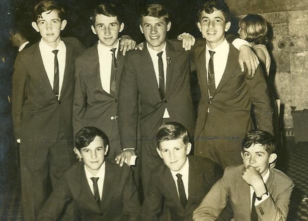 Memória: Formandos do Ginásio Santo Antônio em 1966 Acervo de Paulo Caselani / divulgação/divulgação