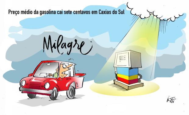 Iotti: o milagre no preço da gasolina Iotti / Agência RBS/Agência RBS