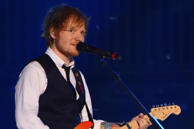"""Agenda: Ed Sheeran apresenta a tour """"Divide"""" em 17 de fevereiro na Arena do Grêmio Divulgação/MTV"""