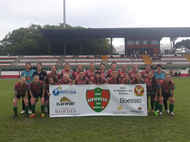 Brasil-Fa se classifica para as semifinais do Gauchão Feminino Brasil-Fa / Divulgação/Divulgação