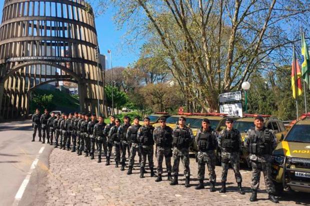 Após maior chacina do RS no ano, polícia cogita reforçar efetivo em Bento Gonçalves Brigada Militar / Divulgação/Divulgação