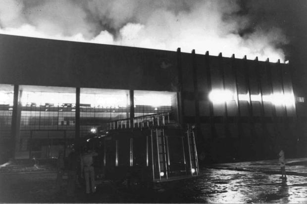 Pioneiro 70 anos: os incêndios da Câmara de Vereadores e do Cine Ópera Gilmar Gomes/Agencia RBS