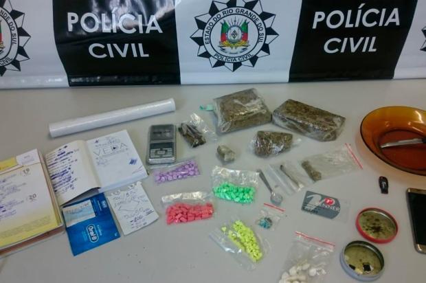 Operação prende grupo ligado à comercialização de drogas sintéticas em Caxias do Sul Polícia Civil / Divulgação/Divulgação